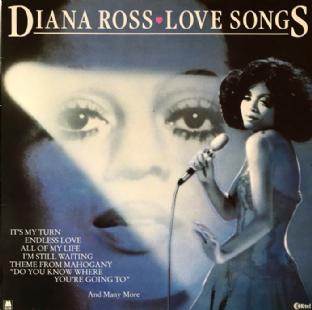 Diana Ross - Love Songs (LP) (G+/VG-)